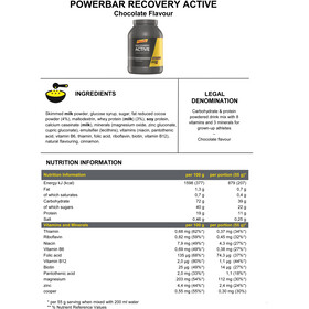 PowerBar Recovery Active Dose 1210g Chocolate